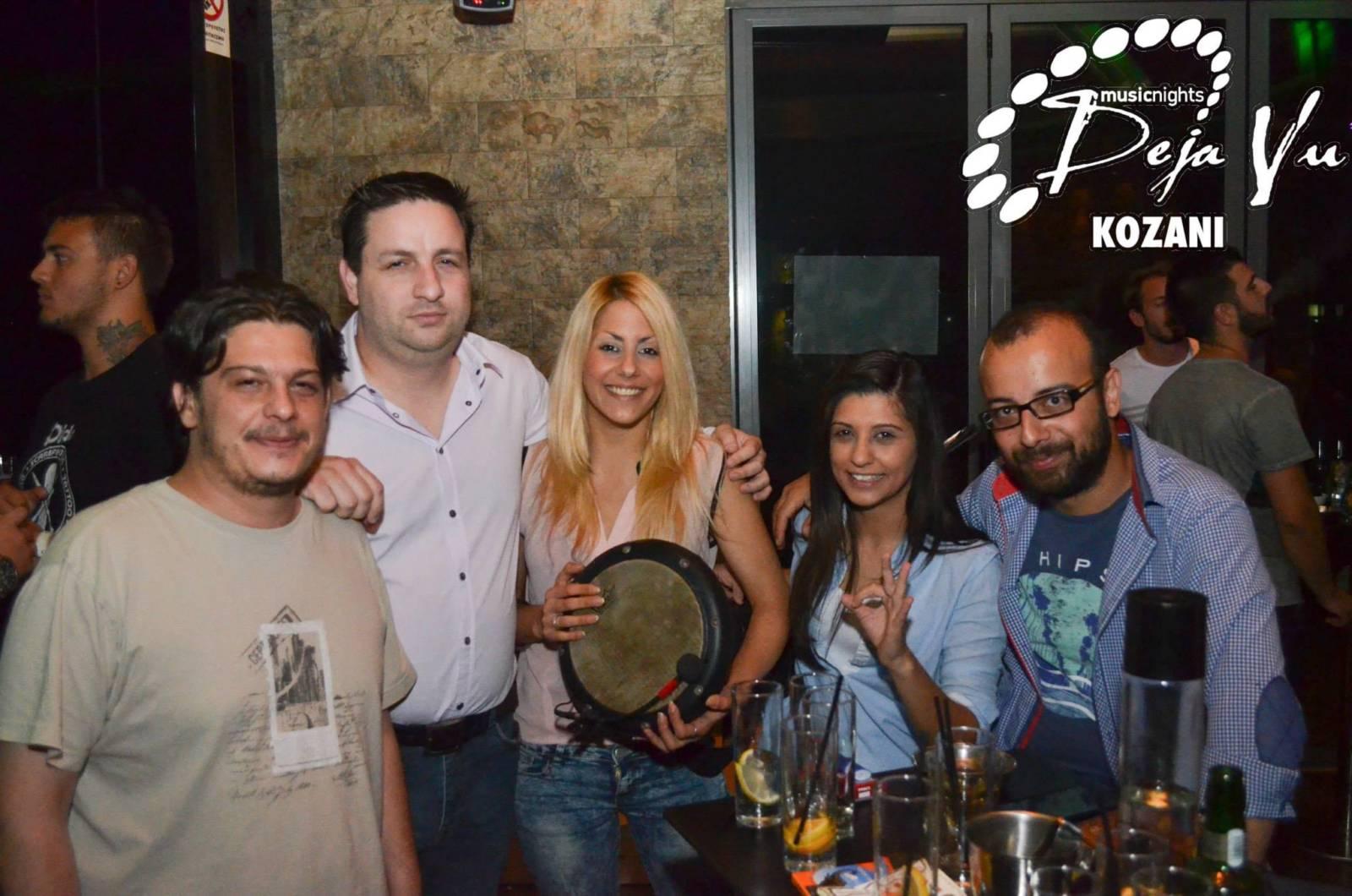 Με τον Κώστα  Μικέλη διασκέδασαν  στο Deja vu στην Κοζάνη, την Πέμπτη 27 Αυγούστου