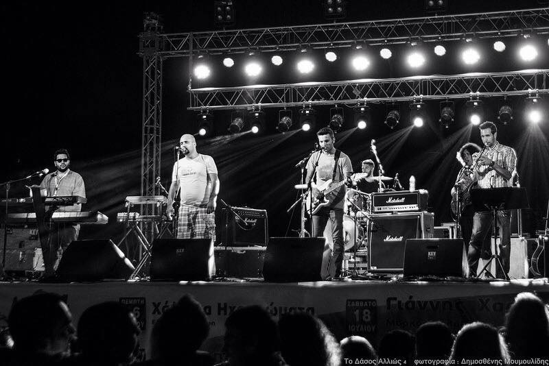 Fiasco full band στο sweet cafe Αρτεμις στην Πτολεμαΐδα, την Τετάρτη 27 Ιουλίου
