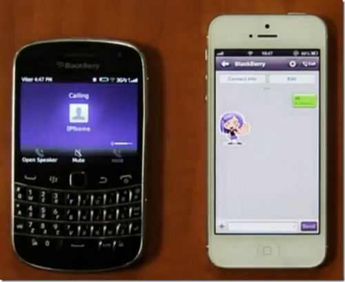 Viber BlackBerry