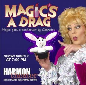Show Ad | Harmon Theatre (Las Vegas, Nevada) | Undated but Approximately 2009
