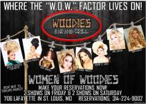 Show Ad | Woodies Bar and Grill (St. Louis, Missouri) | April 2015