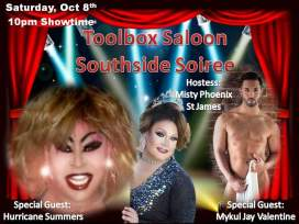 Show Ad | Toolbox Saloon (Columbus, Ohio) | 10/8/2016