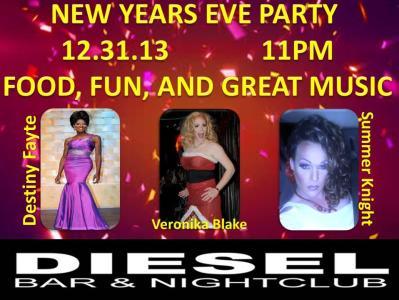 Show Ad | Diesel Bar & Nightclub (Springfield, Ohio) | 12/31/2013