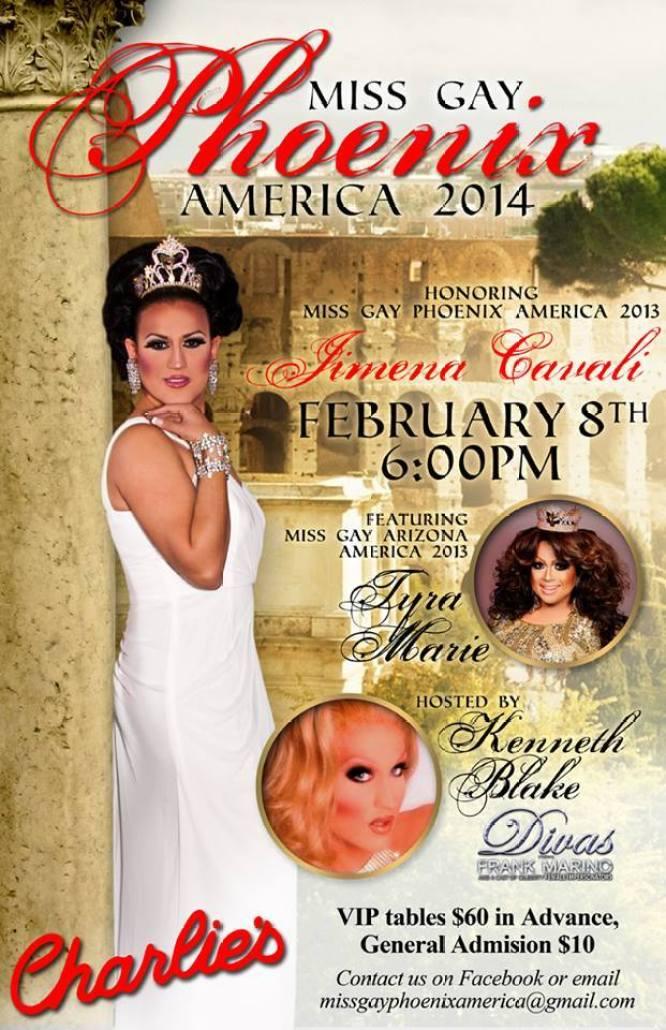 Miss Gay Phoenix America   Charlie's (Phoenix, Arizona)   2/8/2014