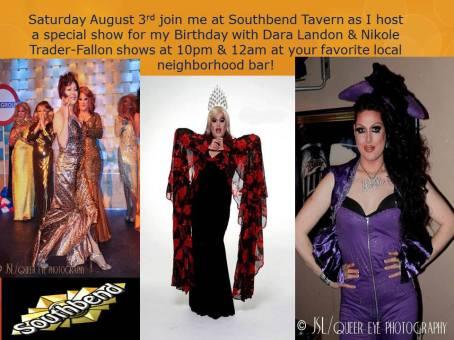 Show Ad | Southbend Tavern (Columbus, Ohio) | 8/3/2013