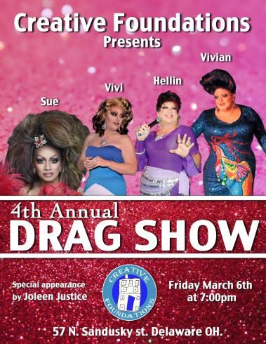 Show Ad | Creative Foundations (Delaware, Ohio) | 3/6/2015