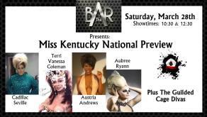 Show Ad | The Bar Complex (Lexington, Kentucky) | 3/28/2015