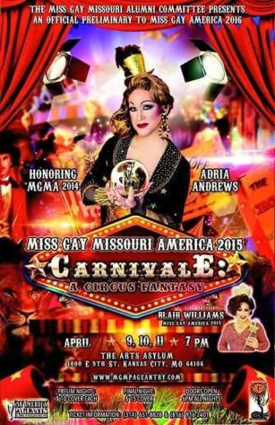 Show Ad | The Arts Asylum (Kansas City, Missouri) | April 9-11 2015