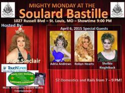 Show Ad | Soulard Bastille (St. Louis, Missouri) | 4/6/2015