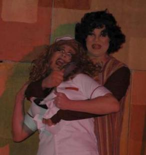 Mary Margaret O'Malley and Nina West