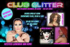 Show Ad   Club Glitter (Cincinnati, Ohio)   5/23/2015