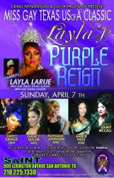 Show Ad | Miss Gay Texas USofA Classic | Saint (San Antonio, Texas) | 4/7/2013