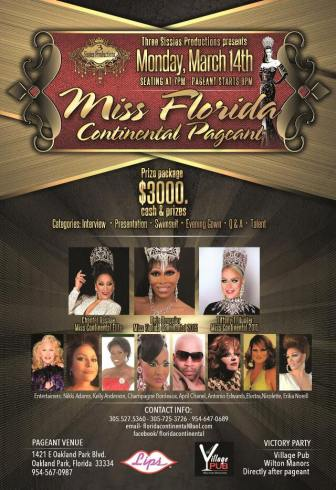 Show Ad | Miss Florida Continental | Lips (Fort Lauderdale, Florida) | 3/14/2016
