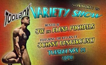 Show Ad | Toolbox Saloon (Columbus, Ohio) | 11/25/2014
