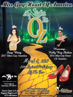 Show Ad | Miss Gay Heart of America | Axis Night Club (Columbus, Ohio) | 3/5/2017