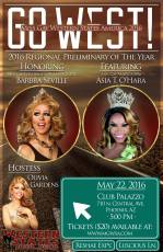 Show Ad | Miss Gay Western States America | Club Palazzo (Phoenix, Arizona) | 5/22/2016