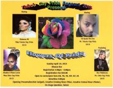 Show Ad | Mr. and Miss Toledo Gay Pride | R House (Toledo, Ohio) | 4/19/2015