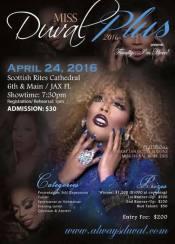 Show Ad   Miss Duval Plus   Scottish Rites Cathedral (Jacksonville, Florida)   4/24/2016