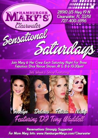 Show Ad | Hamburger Mary's (Clearwater, Florida) | 2/27/2016