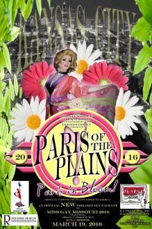 Show Ad | Miss Gay Paris of the Plains America | Sidekicks Saloon (Kansas City, Missouri) | 3/19/2016