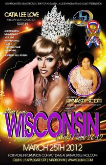 Show Ad | Miss Gay Wisconsin USofA Classic | Five Nightclub (Madison, Wisconsin) | 3/25/2012