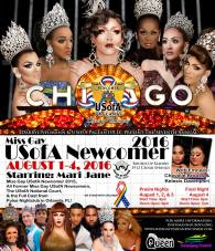 Show Ad | Miss Gay USofA Newcomer | Round-Up Saloon (Dallas, Texas) | 8/1-8/4/2016