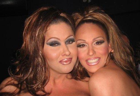 Natasha Richards and Erica Andrews
