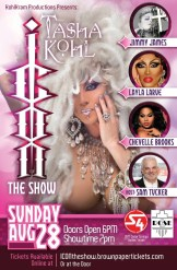 Show Ad | The Icon Show | The Rose Room (Dallas, Texas) | 8/28/2016