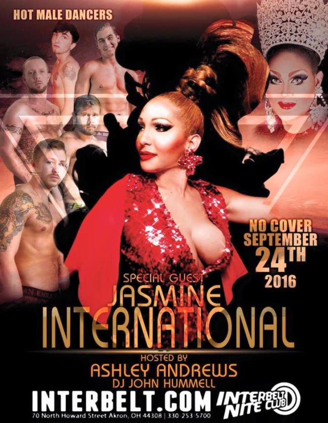 Show Ad   Interbelt Nite Club (Akron, Ohio)   9/24/2016