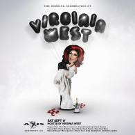 Show Ad | Wedding Celebration of Virginia West | Axis Night Club (Columbus, Ohio) | 9/17/2016