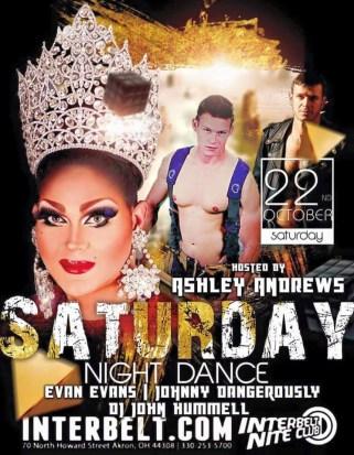 Show Ad | Interbelt Nite Club (Akron, Ohio) | 10/22/2016