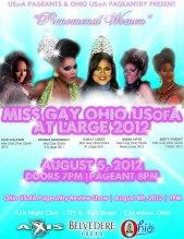 Show Ad | Miss Gay Ohio USofA at Large | Axis Night Club (Columbus, Ohio) | 8/5/2012