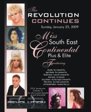 Show Ad | Miss Southeast Continental Plus & Elite | Revolution Night Club (Orlando, Florida) | 1/25/2009
