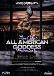 Show Ad | Sin City All American Goddes | Flair Nightclub (Las Vegas, Nevada) | 2/12/2017