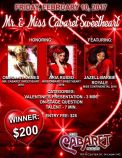 Show Ad | Mr. and Miss Cabaret Sweetheart | Club Cabaret (Hickory, North Carolina) | 2/10/2017