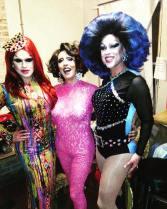 Selena T. West, Samantha Rollins and Deva Station