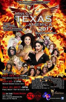 Show Ad | Miss Gay Texas America | S4 in the Rose Room (Dallas, Texas) | 6/18-6/21/2017