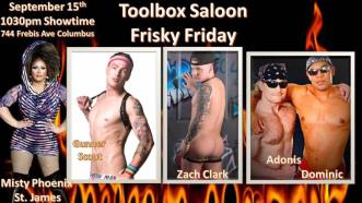 Show Ad | Toolbox Saloon (Columbus, Ohio) | 9/15/2017