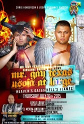 Show Ad | Mr. Gay Texas USofA at Large | Saint Showbar (San Antonio, Texas) | 7/16/2015
