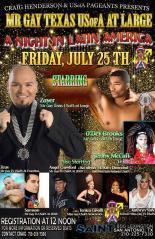 Show Ad | Mr. Gay Texas USofA at Large | Saint (San Antonio, Texas) | 7/25/2014