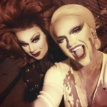 Nina West and Selena T. West