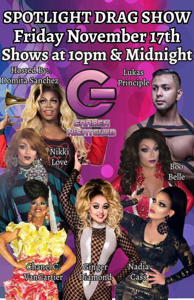 Show Ad   Garden Nightclub (Des Moines, Iowa)   11/17/2017