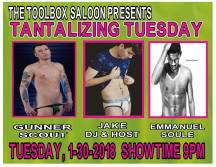 Show Ad | Toolbox Saloon (Columbus, Ohio) | 1/30/2018
