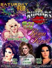 Show Ad | Rumors Beach Bar (Galveston, Texas) | 2/10/2018