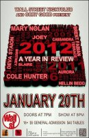 Show Ad | Wall Street Night Club (Columbus, Ohio) | 1/20/2013