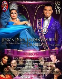 Show Ad | Miss Gay Inergy USofA at Large and Mr. Gay Inergy USofA | Crysta (Houston, Texas) | 5/6/2018