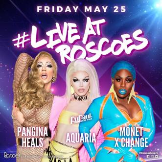 Show Ad   Roscoe's Tavern (Chicago, Illinois)   5/25/2018