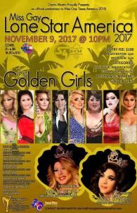 Show Ad | Miss Gay Lone Star America | Station 4 (Dallas, Texas) | 11/9/2017