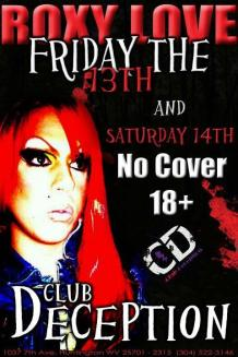 Show Ad | Club Deception (Huntington, West Virginia) | 1/13-1/14/2012
