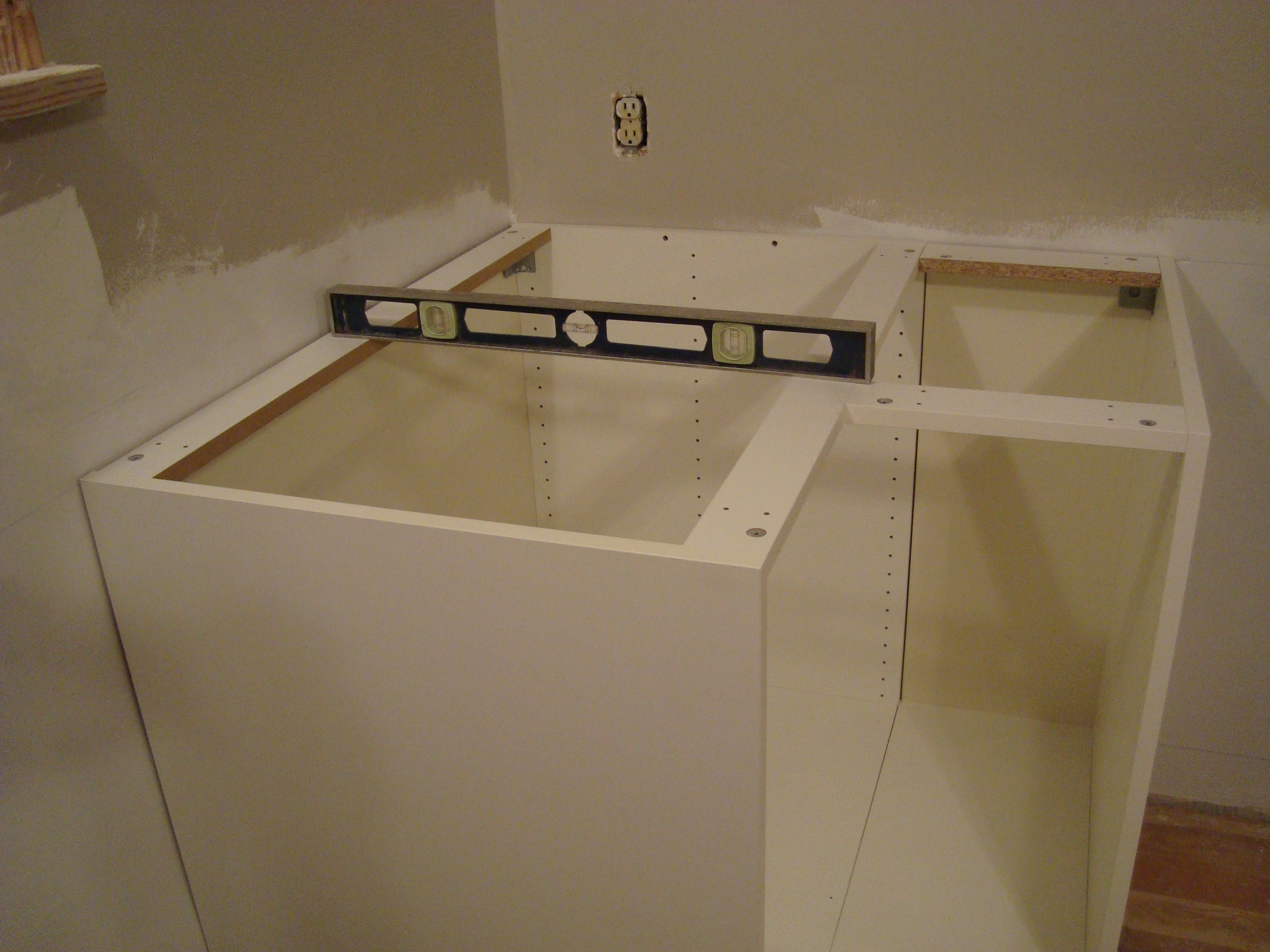 an och 10 step program installing kitchen cabinets kitchen base cabinets Step